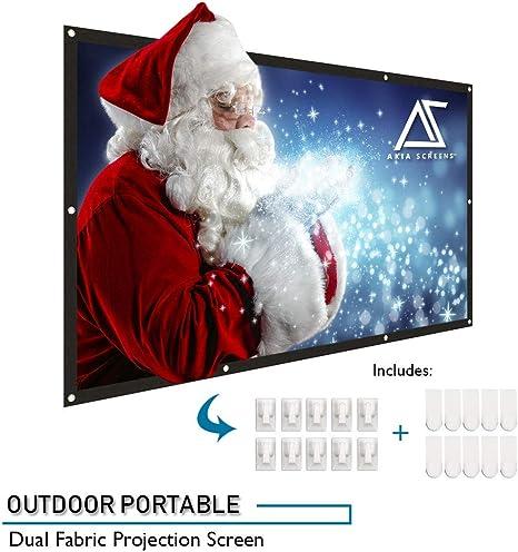 Amazon.com: Akia Screens - Pantalla de proyección portátil ...