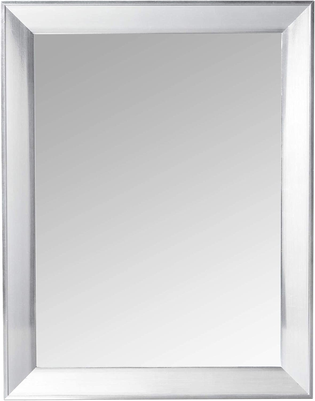 Home Basics Mirror, Silver