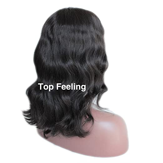 TopFeeling Short Lace Front Wigs Human Hair Bob Wigs Brazilian Body Wave  Ombre Highlight Color Short Wigs For Black Women ... 73e1d9a68