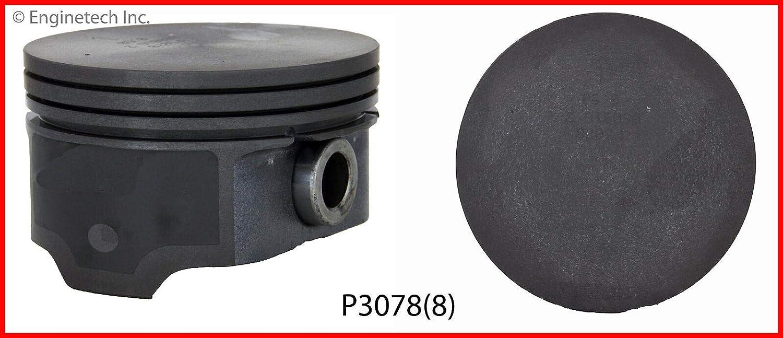 Enginetech M40718-STD Rings GM 6.2L 376 OHV