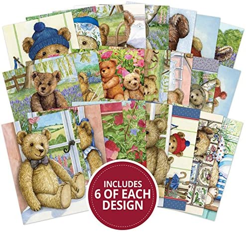 144 pages approx 6x4-inches LBK214 Hunkydory Little Book of Teddy Bear Picnic