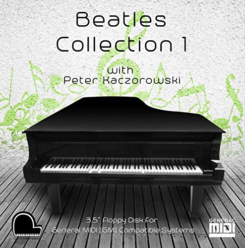 "Beatles Collection 1 - General Midi Compatible Music on 3.5"" DD 720k Floppy Disk for Player Piano Systems and Digital Pianos"
