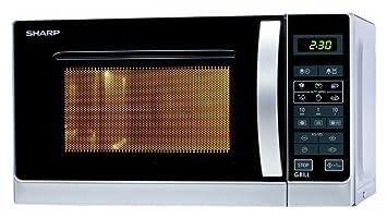 Sharp r-642inw Horno a microondas con grill Capacidad 20 Litros Potencia 800 W)