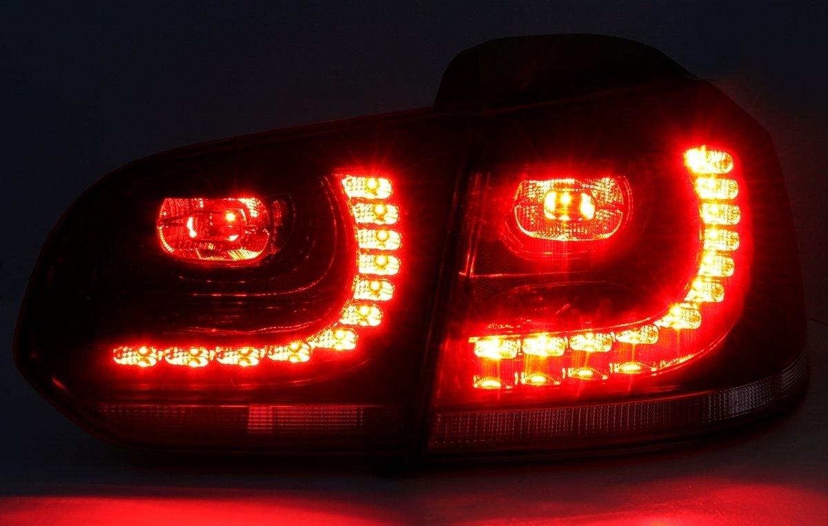 Depo LED Rckleuchten Set Klarglas Rot Wei/Ã/Ÿ Heckleuchten Rcklichter