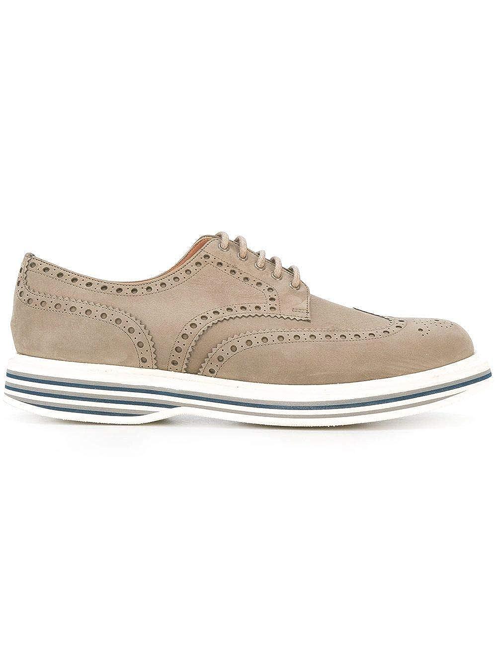 - Church's Hombre EEC0649DZF0DY9 gris Gamuza zapatos De Cordones
