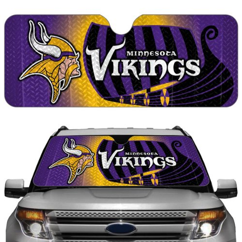 NFL Minnesota Vikings Auto Sun Shade