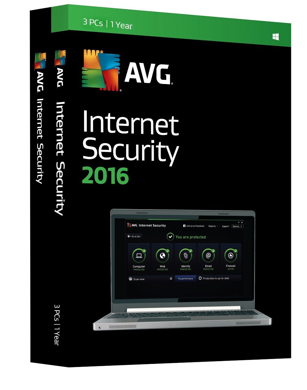 AVG Internet Security 2016 3PC 1Year
