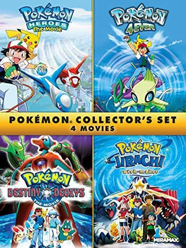 Pokémon Collectors 4-Film Set [DVD] -