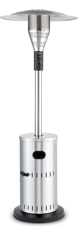 Gas-Heizstrahler 5800 Heizpilz mit stufenloser Regulierung Enders Terrassenheizer Gas SOLID Edelstahl Transportr/äder h/öhenverstellbar Umkippsicherung Turbo-Brenner