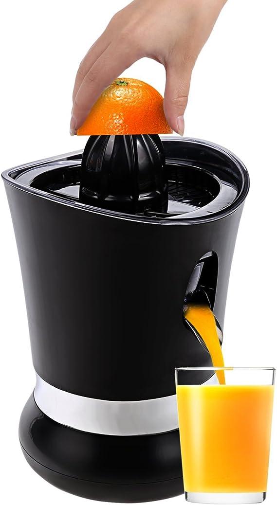Compra Meykey Exprimidor Eléctrico Para Naranjas y Cítricos,Negro ...