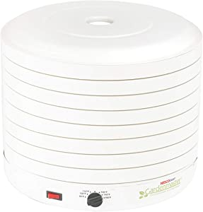 NESCO FD-1018A, Gardenmaster Food Dehydrator, White, 1000 watts (Renewed)