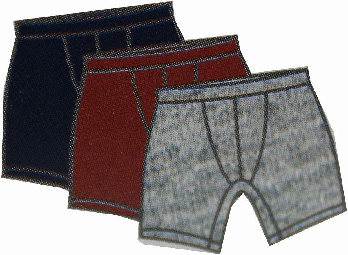 Lacoste Mens 100/% Cotton Boxer Brief Underwear Multipack
