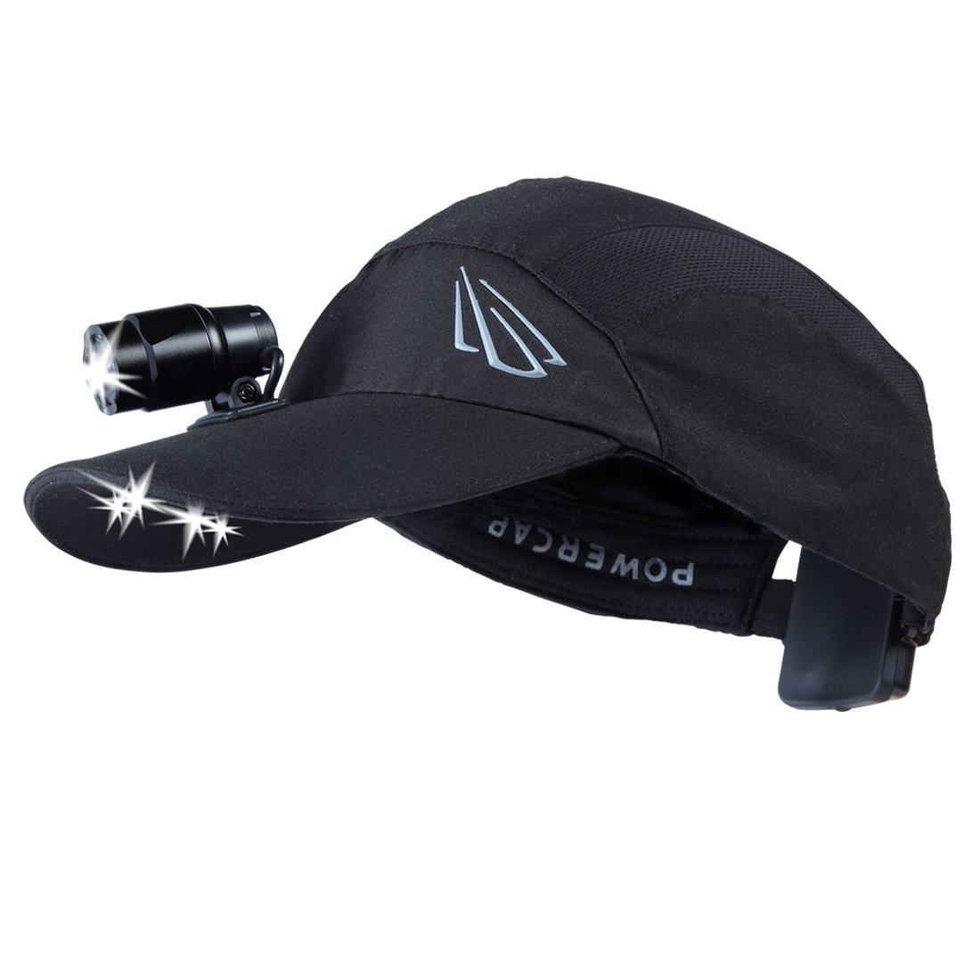 Panther Vision HLH-1606 Unstructured Microfiber Headlight Hat, Black [並行輸入品] B06XFBQM6J