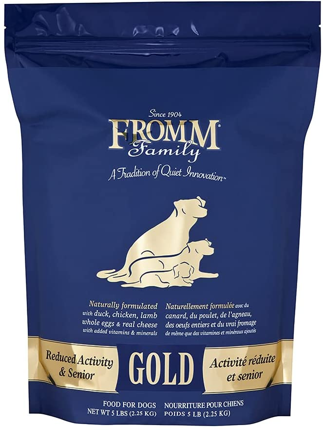 Fromm Gold Nutritionals Senior Dry Dog Food, 5-Pound Bag