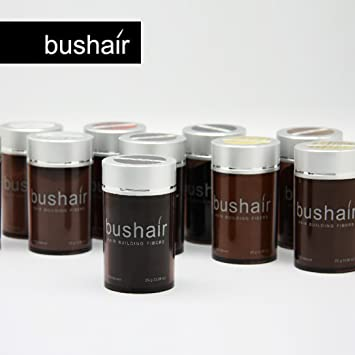 bushair - Polvo de fibras capilares sin componentes animales para ...