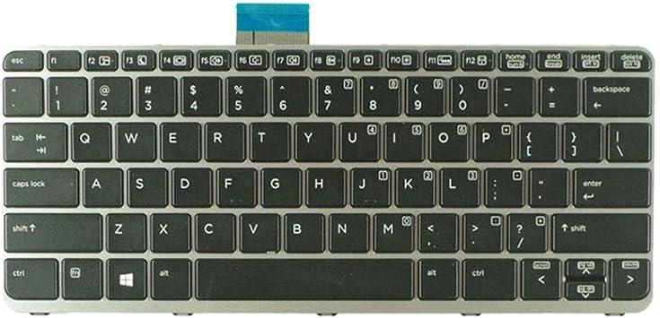 Almencla Repuesto Teclado Inalámbrico Compatible para HP ...