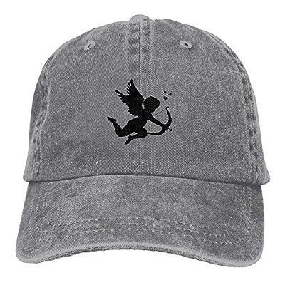 Cupid Angel Love Baseball Caps Unique Curved Visor Summer Hats for Women