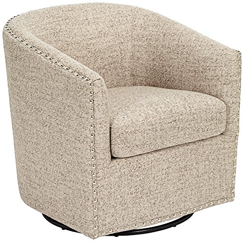 Modern Swivel Club Chair - 9