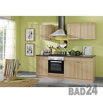 Günstig Küchenzeile 210 Braga Komplett Inkl E Geräte Spüle Apl