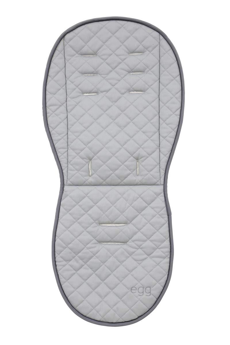 Egg Stroller All Season Grey Reversible Padded Fleece Seat Liner