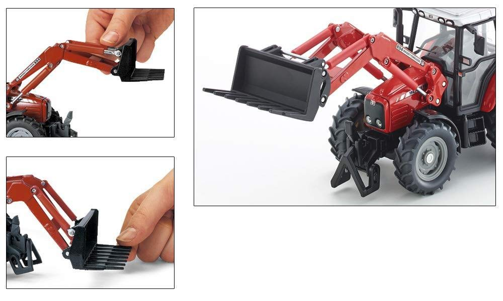 Siku MF Tractor with Front Loader 1:32 Scale
