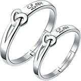 19 Likes silver Metal Couple ring for Men & Women