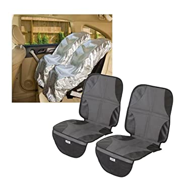 Mommys Helper Car Seat Sun Shade With Mat
