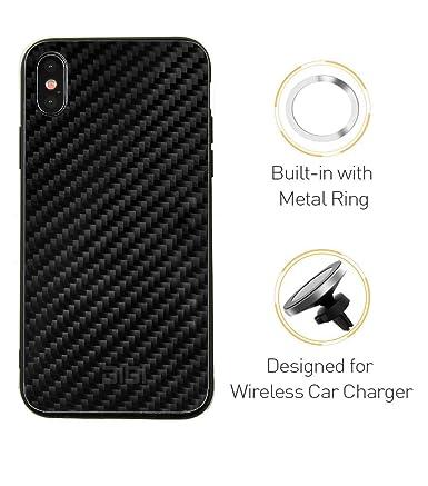 Amazon.com: Carcasa de anillo de metal integrada, absorción ...