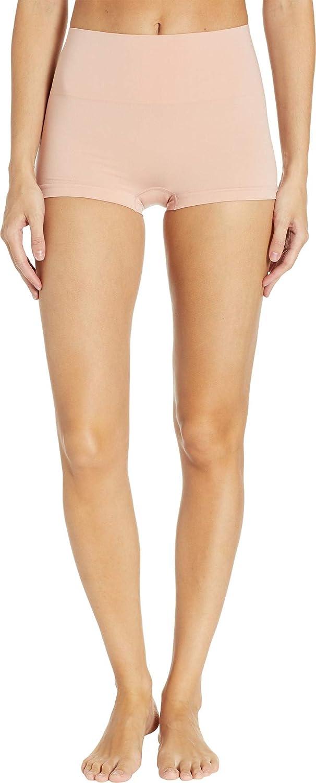 edcddd6f1b7 SPANX Women s Everyday Shaping Panties Seamless Boyshort at Amazon Women s  Clothing store