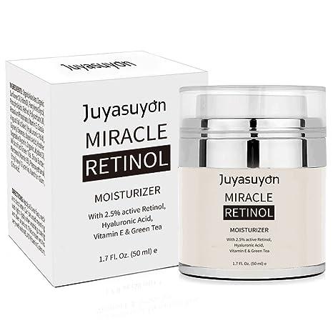 Crema Hidratante con Vitamina A C E, Retinol de Pawaca crema para cara y ojos, antienvejecimiento