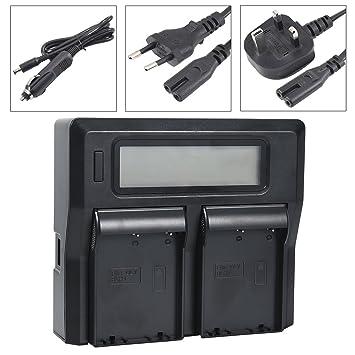 DSTE 1.5A Rápido Cargar Doble Batería Cargador Compatible ...