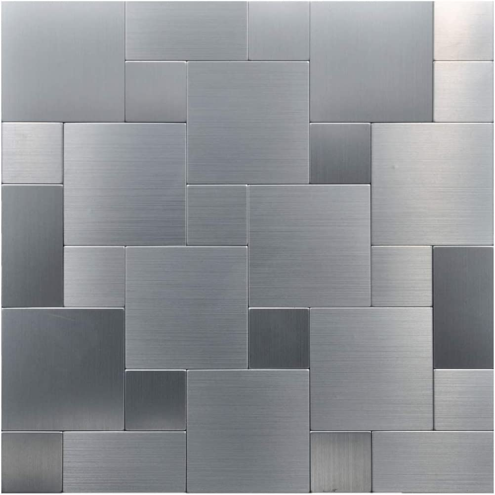 - Amazon.com: Art3d Peel And Stick On Metal Steel Backsplashes, 10