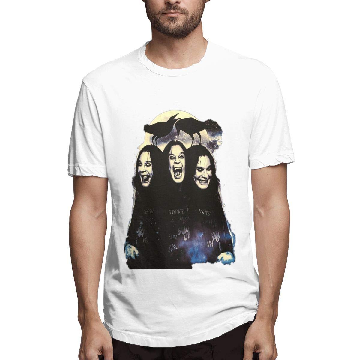 Lihehen Mans Ozzy Osbourne Fashion Leisure Round Neck Tees Shirts