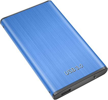 Disque Dur Externe 2to USB3.0 pour Mac Windows Chromebook 2to,Or Xbox One Xbox 360 MacBook Disque Dur Externe PC