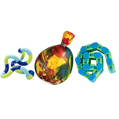Twister, Isoflex Stress Ball and Wacky Tracks Combo Pack!: Toys & Games
