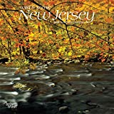 New Jersey, Wild & Scenic 2019 7 x 7 Inch Monthly Mini Wall Calendar, USA United States of America Northeast State Nature (Multilingual Edition)