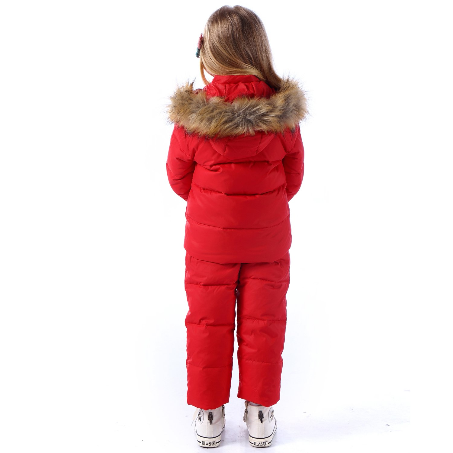 Trousers Snowsuit Warm Clothes ZOEREA Unisex Baby Winter Snowsuit Newest Children Girls Clothing Sets Winter Hooded Duck Down Jacket