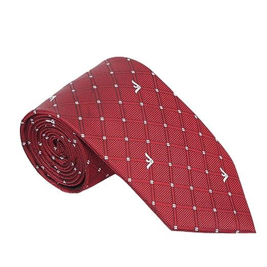 Yiph-Tie Lazo Ocio Corbata de los Hombres Punto Blanco Tejido ...