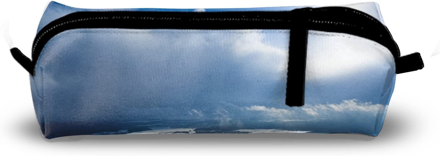 Sunshine Cloud Charm School Pencil Pouch Case