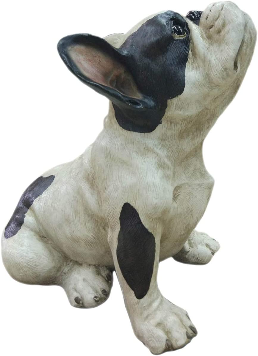 Moe's Home Collection Frenchie Statue Jean in Multicolor