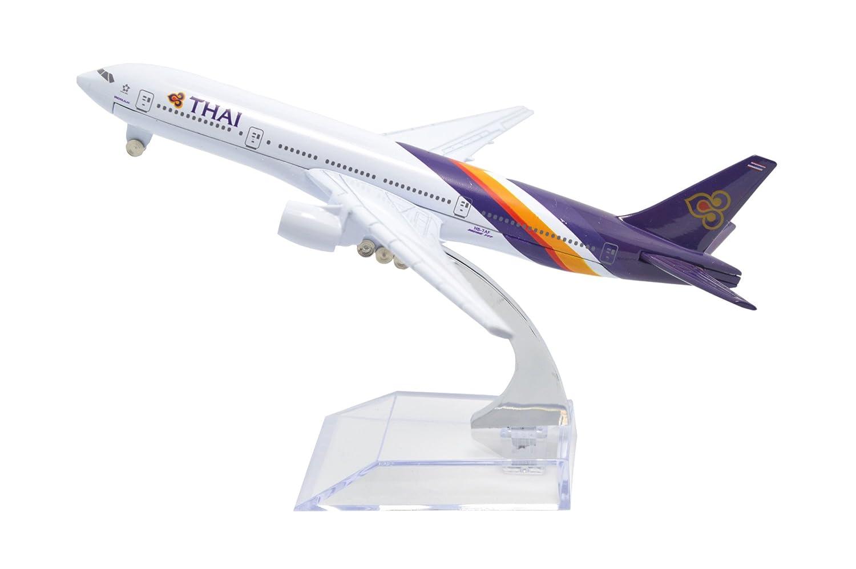 Tang Dynasty(TM 1:400 16cm Boeing B777 Thai Airways Metal Airplane Model Plane Toy Plane Model Tang Dynasty International .