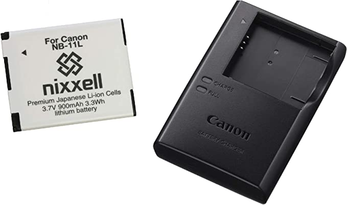 Canon ELPH 130 Canon A2600 ELPH 115 IS Canon ELPH 120 IS CB-2LF CB-2LFE Charger for Canon A2500