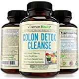 Colon Detox Cleanse & Weight Loss Supplement 100% All Natural, Non-Gmo, Gluten Free. Works for Men and Women. Gentle, Safe & Effective Cleanser to Lose Weight and Flush Toxins. Made in the USA