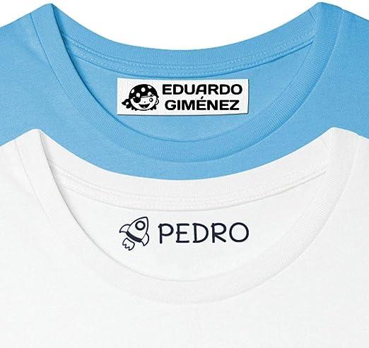 Sello personalizado para niños. Sello marcador de ropa y ...