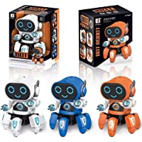 Amisha Gift Gallery Bot Robot Octopus Shape Electric Robot Colorful Music Flashing Lights Dance Toy for Kids Boys Girls Birthday Gift Robot Toy for Kids ( Colors : Assorted )