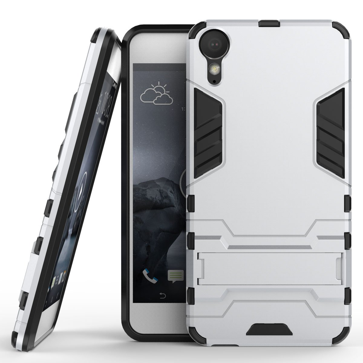 HTC Desire 10 Lifestyle Case, HTC Desire 10 Lifestyle Hybrid Case, Dual Layer Protection Shockproof Hybrid Rugged Case Hard Shell Cover with Kickstand for 5.5'' HTC Desire 10 Lifestyle