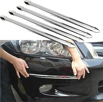 4X Universal Car Door Bumper Guard Strip Anti-Collision Scratch Protector Bar s0