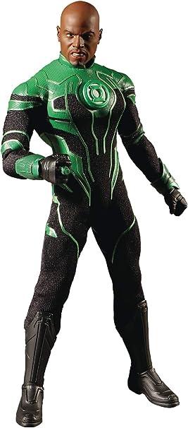 Mezco Collectif Green Lantern John Stewart figure DC Comics Justice League