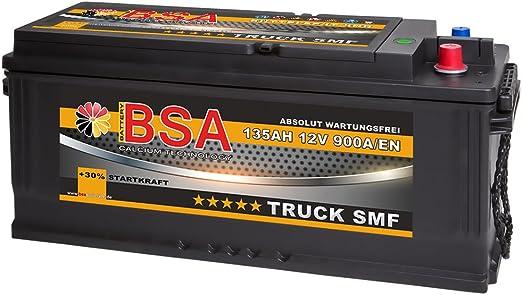 Bsa Lkw Batterie 135ah 12v Shd Smf Schlepper Traktor Bagger RÜttelfest 110ah 120ah Elektronik