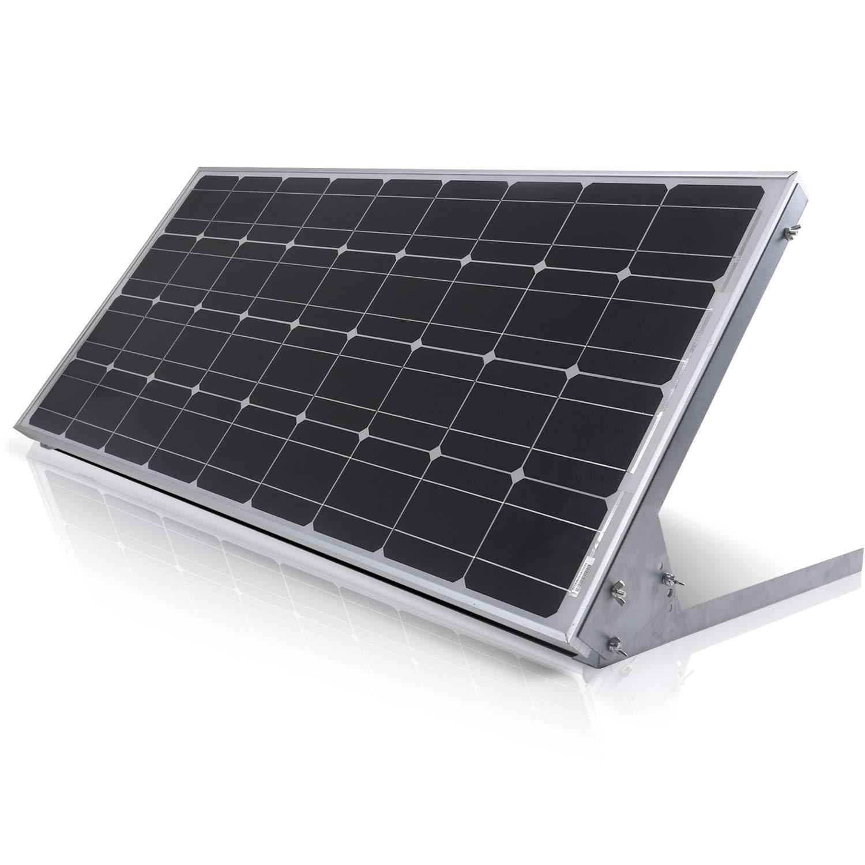 SUNER POWE Adjustable Solar Panel Mount Racks - Folding Mounting Tilt Brackets for Wall, Roof, RV and Off Grid Solar System